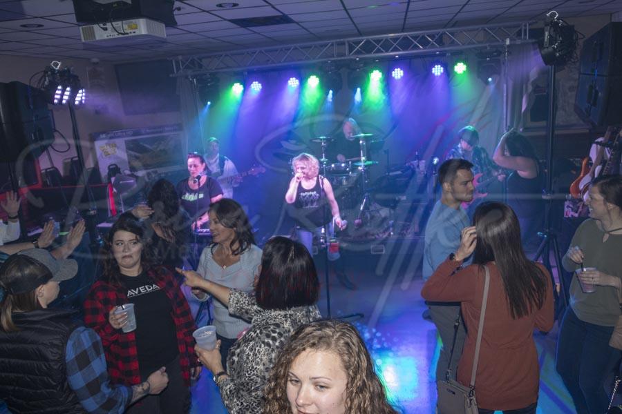 Cougars Band at Game Day Sports Bar 49