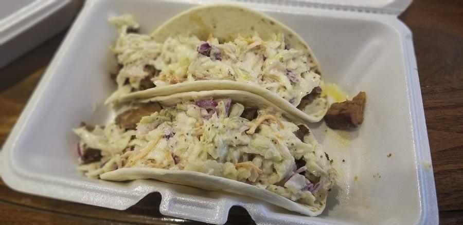 TTZ Barbeque Menasha WI BBQ Taco