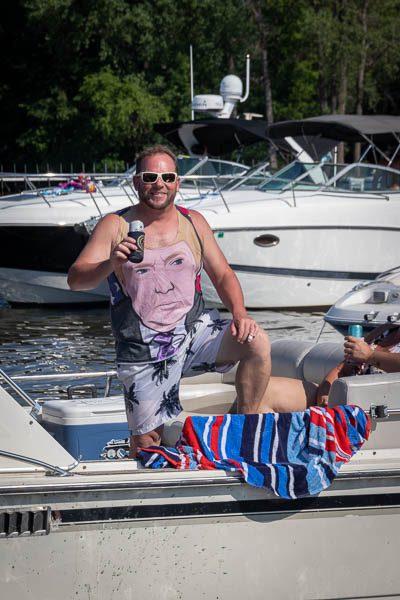 Boating Lake Winnebago July 25th Weekend 54