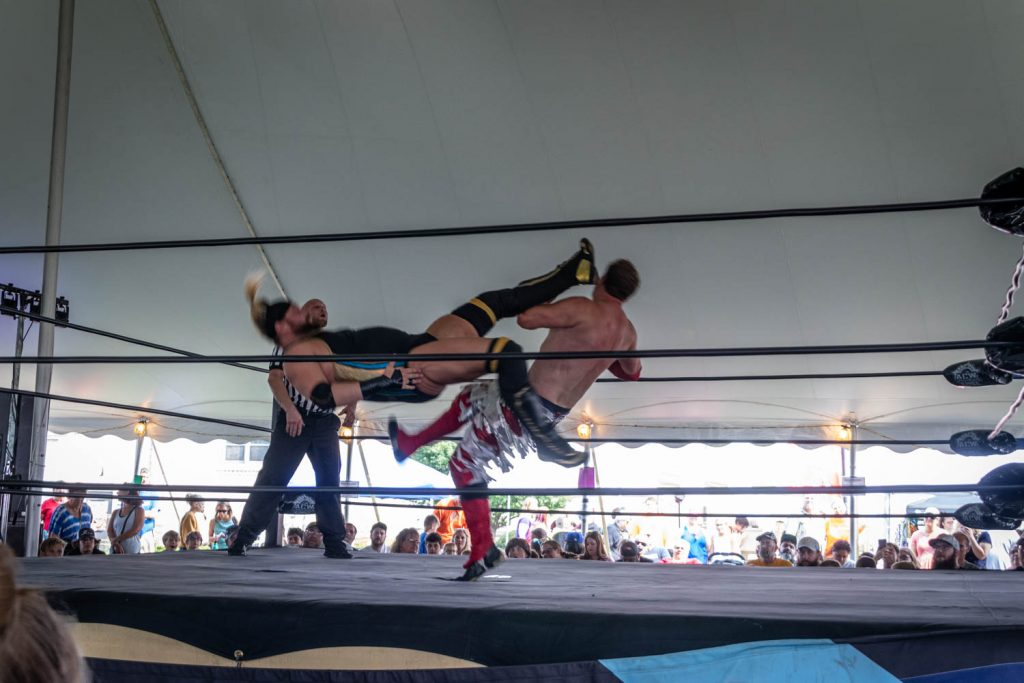 ACW Wrestling at St Patrick's Fall Heritage Festival