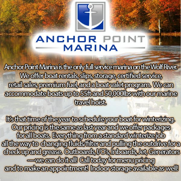 Anchor Point Marina Fremont WI