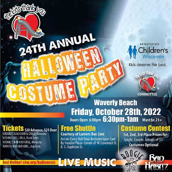 Childrens Hospital Costume Contest  and Party Appleton WI