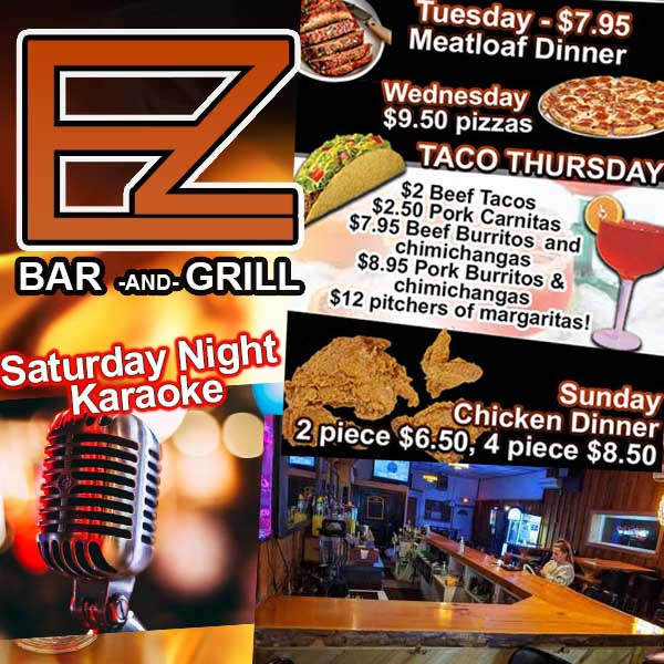 The EZ Bar & Grill in Bear Creek WI