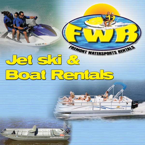 Wisconsin jet ski waverunner boat rentals in fremont wi for Wisconsin fishing resorts with boat rentals