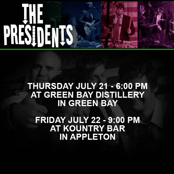 The Presidents Band Appleton WI