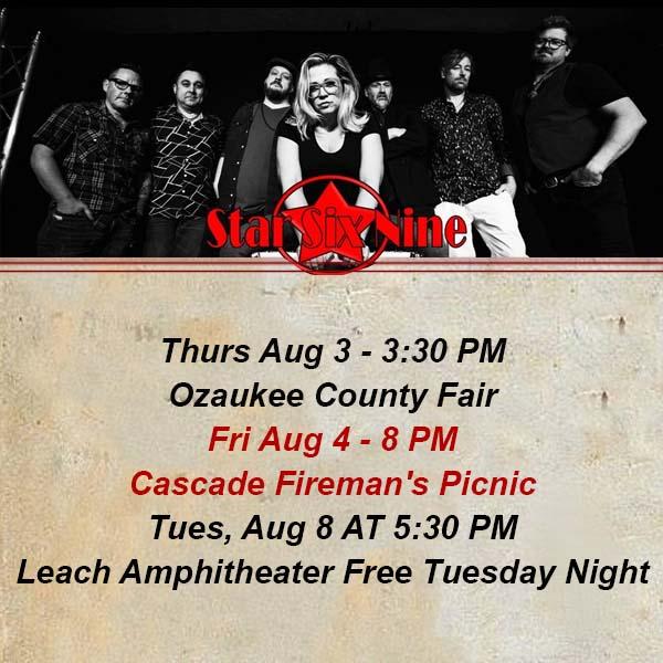 Star Six Nine Band 69 Appleton WI