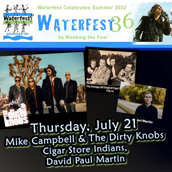 Waterfest Concert Series in Oshkosh wi