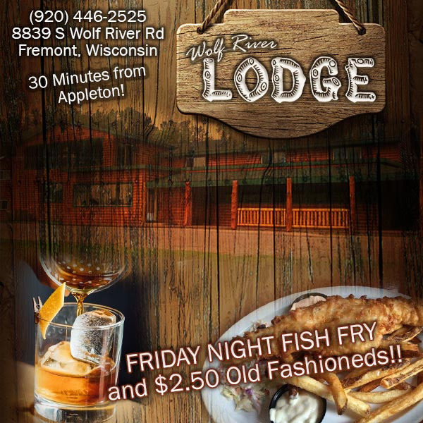 Wolf River Lodge boat dining and hotel in Fremont Wisconsin