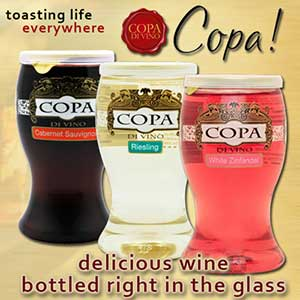 Copa Di Vino Wine in a Glass