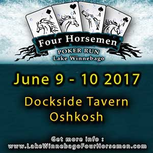 Lake Winnebago Four Horsemen Poker Run Oshkosh